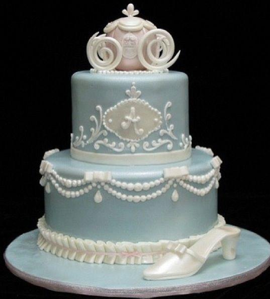 シンデレラウェディングケーキ