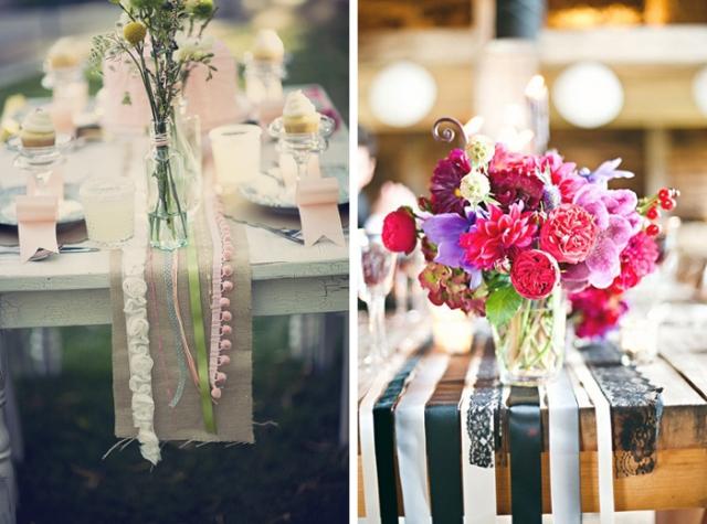 結婚式_テーブルランナー