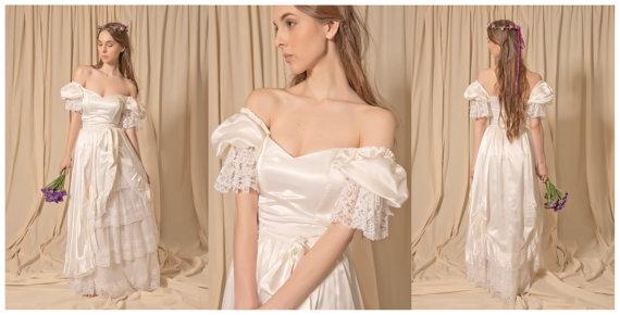 ヴィンテージウェディングドレス
