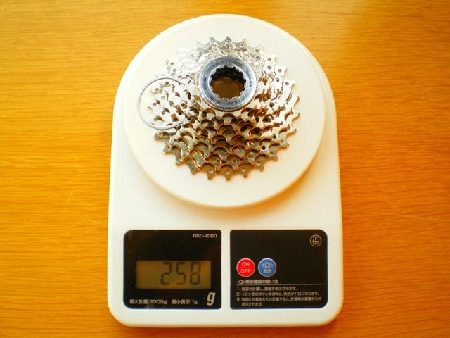 CS-5600(12-27T)の重さ