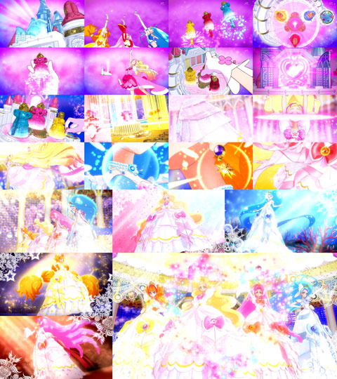 【Go!プリンセスプリキュア】第30回「未来へ!チカラの結晶、プリンセスパレス!」