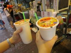 香港 観光 飲み物