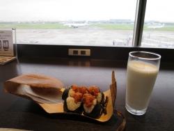 羽田空港 空弁 天むす 地雷也