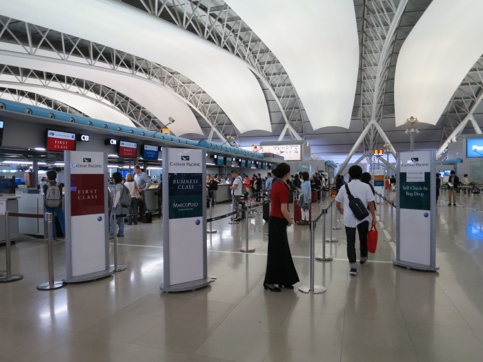 関西空港 キャセイパシフィック ビジネス