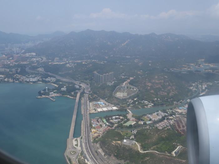 香港 キャセイパシフィック 機内 JGC