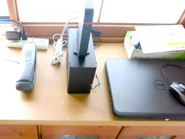 ネット対応HDD&WiFi