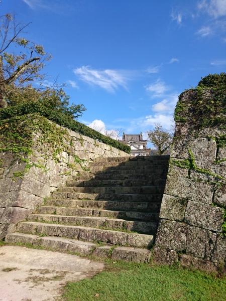 宇和島城一之門跡