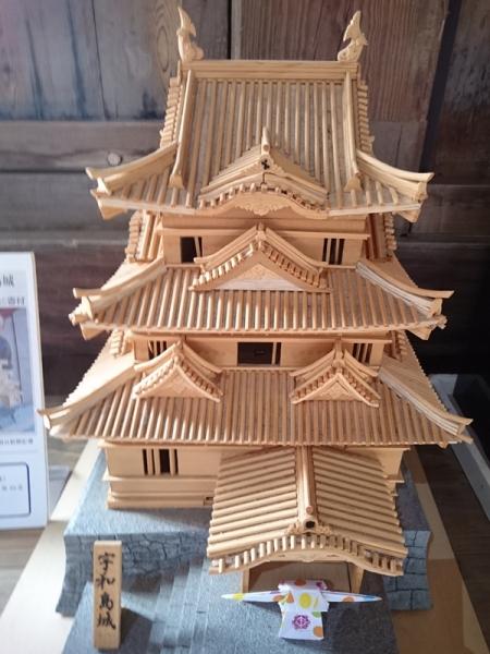 宇和島城天主模型