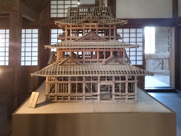 宇和島城天主模型大型
