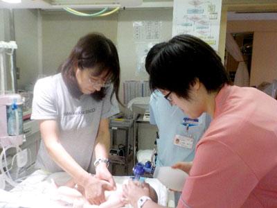 平成27年8月14日新生児蘇生法4