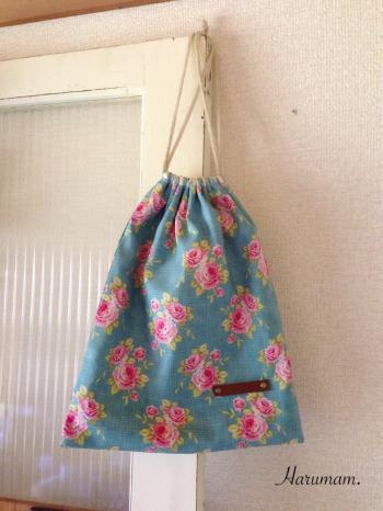 ミシン講座に向けての試作品・ティルダの巾着と絵本トートバッグ