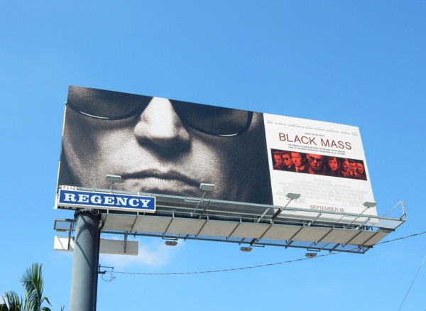 Black Mass film billboard
