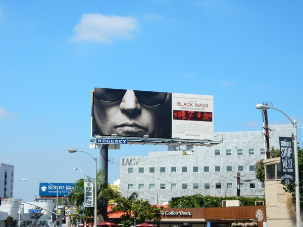 BlackMass movie billboard