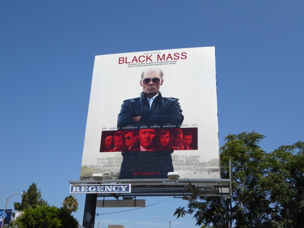 johnny depp Black Mass movie billboard