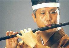 ⑧龍笛の奏法