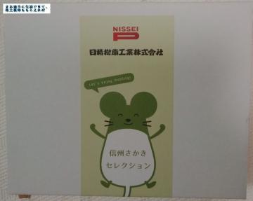 日精樹脂 信州さかき優待01 201503