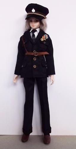 アズ用ミリタリースーツ黒