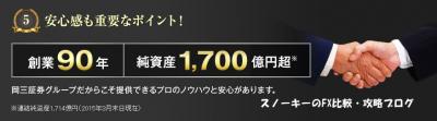 岡三アクティブFX評判2
