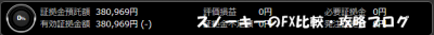 20150906トライオートFX証拠金預託額38万969円
