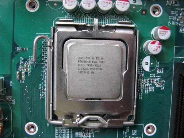 CPUクーラー取り外し状態