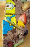 ミニオン バースデーケーキ
