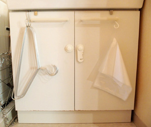 洗濯用ハンガーの収納