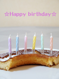 誕生日ケーキ 6歳