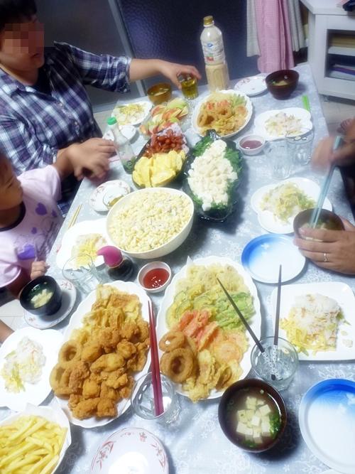 夕飯ですよ~