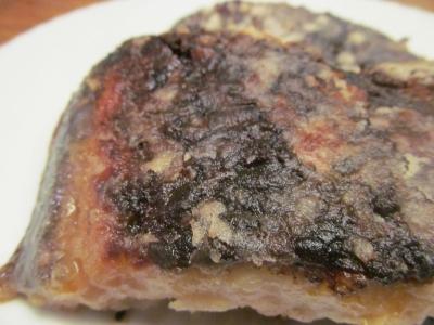 イシガレイの醤油サクサク焼きアップ3