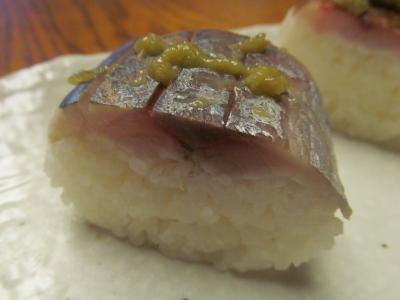 アジの棒寿司アップ1