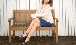 女性のきれいな足