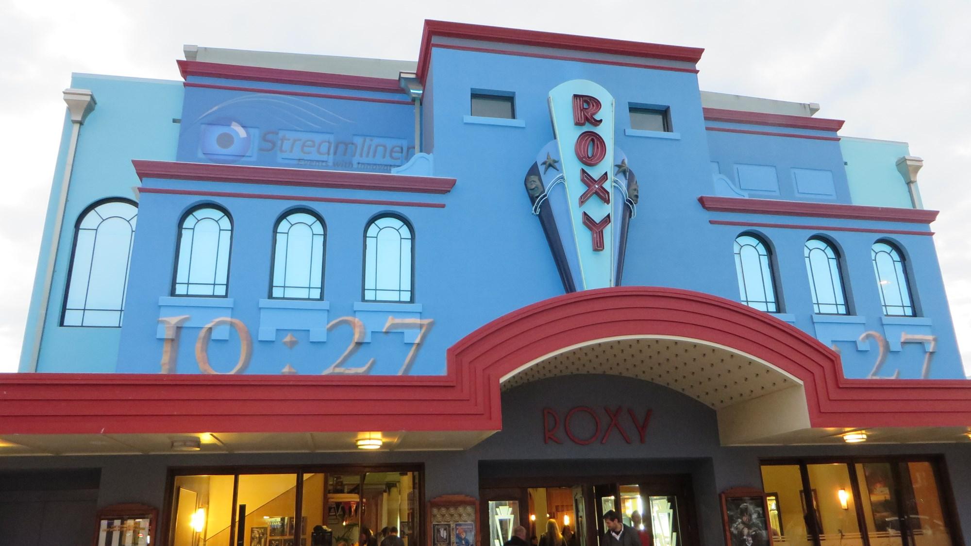 ニュージーランド旅行 '14 Roxy Cinemaで『ホビット』プロジェクション・マッピング編