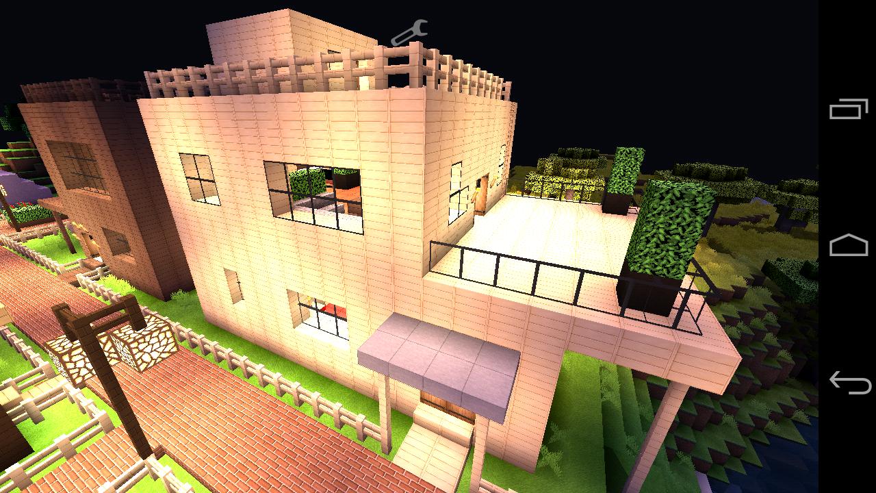 マイン クラフト 豪華 な 家 の 作り方 【マインクラフト】「簡単シンプルな木の家の作り方・設計図」を見な...