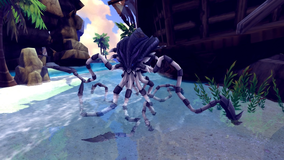 基本プレイ無料のハンティングファンタジーMMORPG『ハンターヒーロー』 危険なイカ出現!「ティンテンフィッシュ討伐イベント」を開催!「モンスター牧場鉱山」も実装