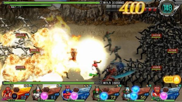 基本プレイ無料のブラウザタワーディフェンス『仮面ライダーメガトンスマッシュ』 命燃やすぜ!「仮面ライダーゴースト ムサシ魂」を早くも追加