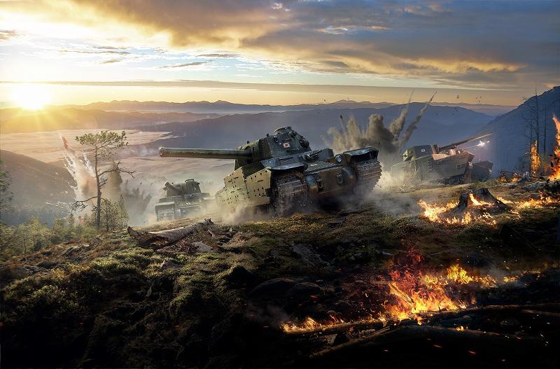 基本プレイ無料のミリタリーシューティングオンラインゲーム『World Of Tanks(ワールド・オブ・タンクス)』 プレモデルメーカー「ファインモールド」とのコラボ第2弾!幻の日本重戦車「オイ車」を蘇らせちゃおう