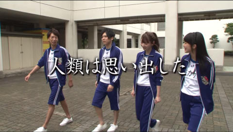 【進撃!巨人中学校】「進撃!トレジャーハント」「サシャがひとりで○○してみた」PV