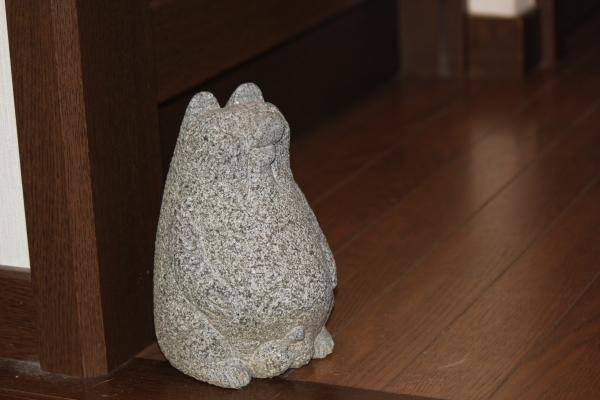 石のたぬきちゃん