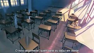 教室の明里