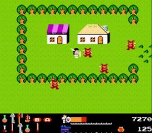 ワルキューレの冒険 ゲーム画面その2
