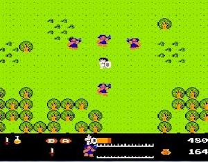 ワルキューレの冒険 ゲーム画面その3