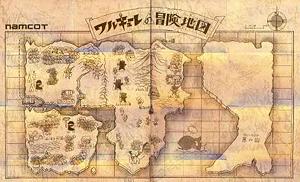 ワルキューレ冒険地図