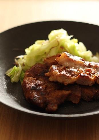 豚の味噌粕漬け