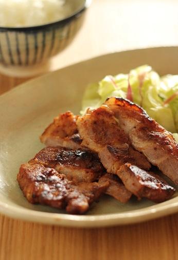 豚の味噌粕漬け1