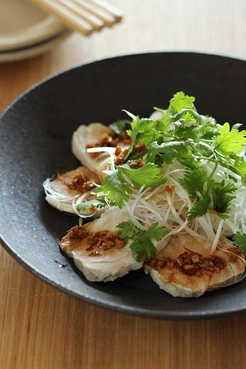 ゆで豚花椒風味のソース