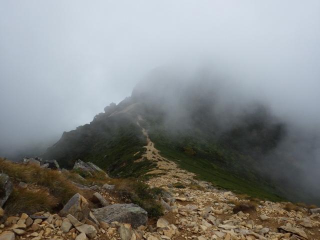 IMGP2966 (640x480)西天狗岳稜線