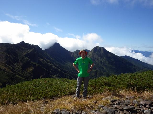 IMGP3025 (640x480)横岳 赤岳 阿弥陀岳