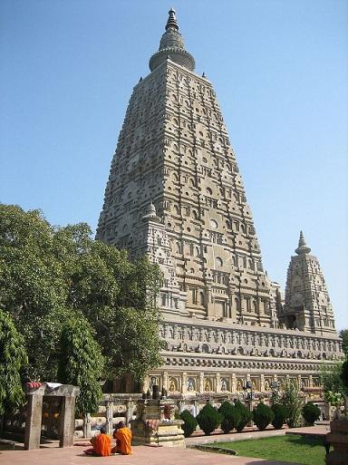 ブッダガヤの大菩提寺