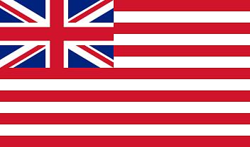 英東インド会社社旗(1801年)
