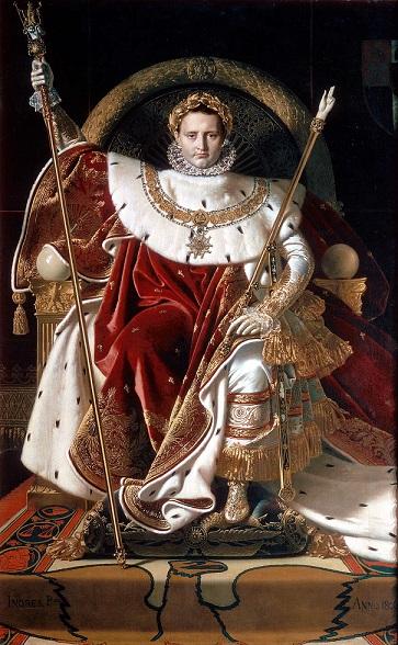 『玉座のナポレオン1世』